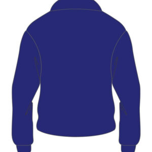 Custom Royal Blue Cafe Racer Cotton Jacket