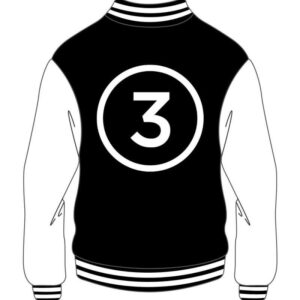 Custom Varsity Major Black And White Jacket