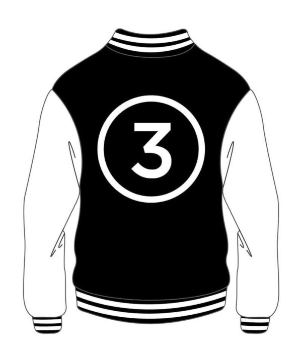 Custom Varsity Major Black And White Jacket