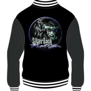 Custom Black and Grey Varsity Jacket