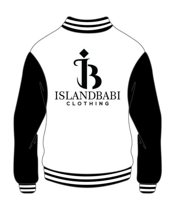 Custom Design Black and White Varsity Jacket