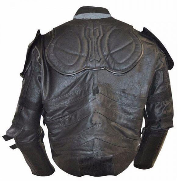 Batman The Dark Knight Rises Motorcycle Leather Jacket