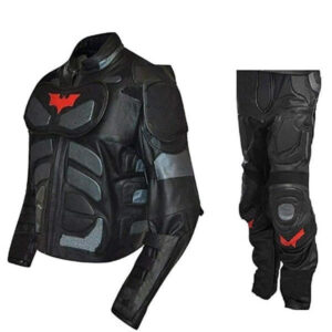Batman The Dark Knight Rises Motorcycle Leather Suit