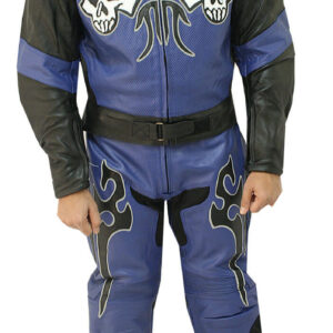 Blue Moon Motorcycle Racing Leather Suit