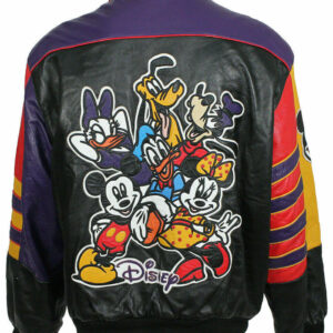 Chris Brown Pie Music Video Worn Walt Disney Leather Jacket
