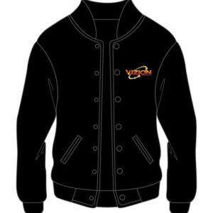 Custom Black Basket ball Varsity Jacket