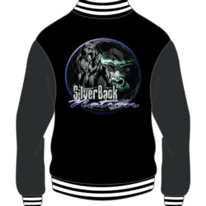 Custom Black and Grey Varsity Jacket