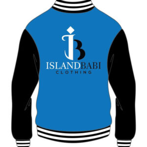 Custom Design Blue And White Varsity Jacket