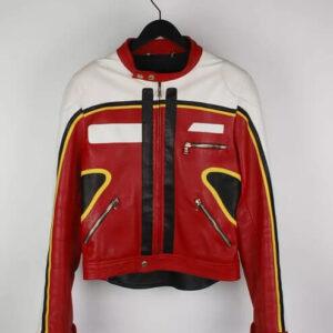 Dolce and Gabbana Leather Biker Jacket