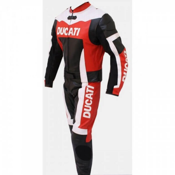 Ducati Motorcycle Racing 2-Pc Leather Suit