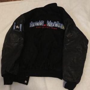 Home Alone 2 Black Varsity Jacket