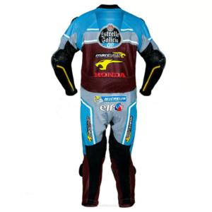 Honda Jack Miller Estrella Galicia Motorcycle Leather Suit
