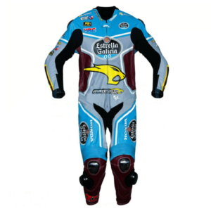 Honda Jack Miller Estrella Galicia Motorcycle Leather Suit