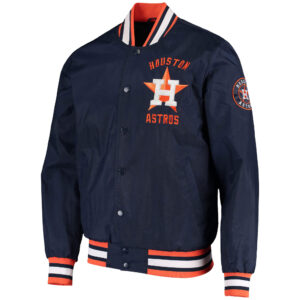 Houston Astros The Jett III Satin Varsity Jacket