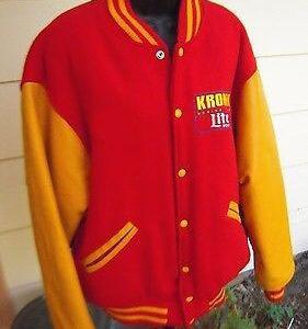 Kronk Boxing Team Lite Beer Varsity Jacket
