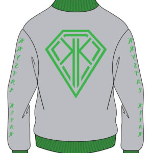 Krystal Klear Varsity Cotton Jacket