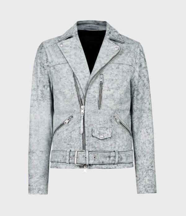 Bakewell Leather Biker Jacket