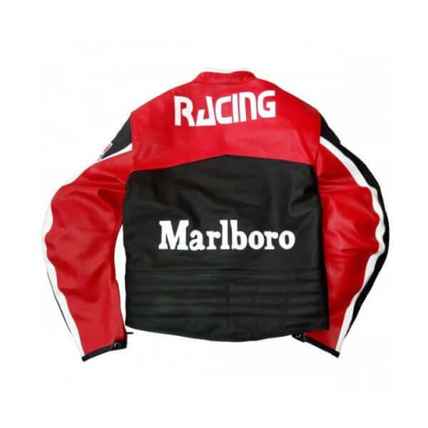 Marlboro Motorcycle Racing Leather Jacket