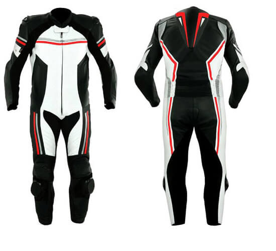 Men's Motorcycle Sports Racing Leather Suit