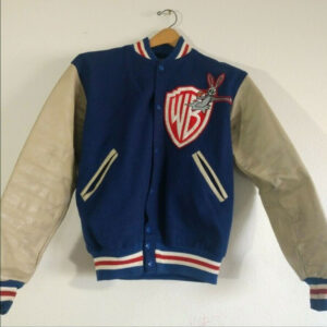 Michael Jackson Warner Bros Wool Varsity Jacket