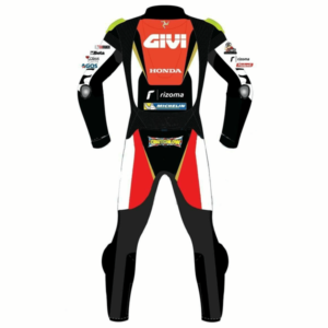 Motorcycle Honda Racing Sports Leather Suit
