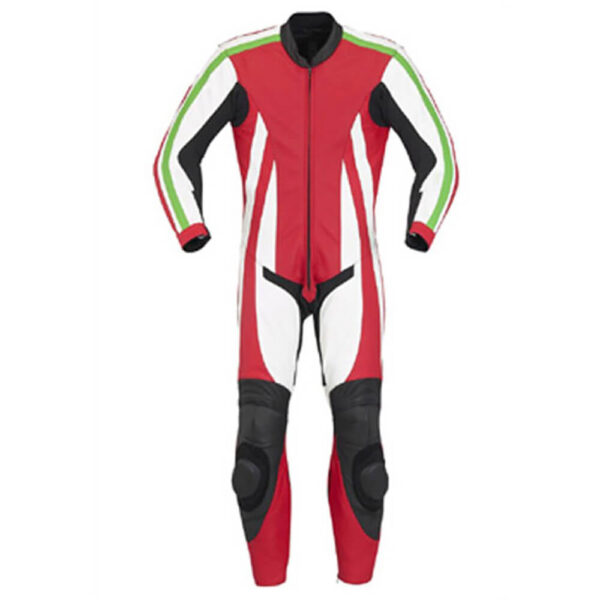 Multi Color Motorcycle Racing Leather Suit