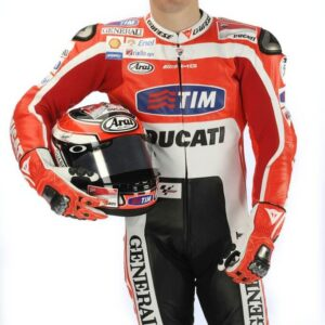 Nicky Hayden Ducati Corse MotoGP Motorcycle Leather Suit