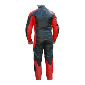 Red & Black Eton Motorcycle Leather Racing Suit