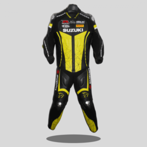Suzuki Motorcycle Racing Leather Suit