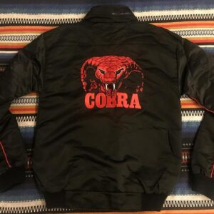 Sylvester Stallone Black Cobra Satin Jacket