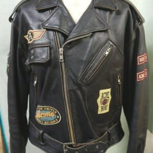 Vintage ACME Warner Bros Leather Jacket