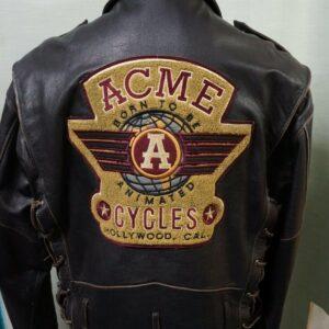 Vintage ACME Warner Bros Leather JacketVintage ACME Warner Bros Leather Jacket