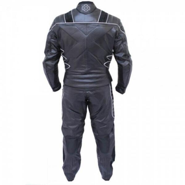X-MEN Black Motorcycle Racing Leather Suit
