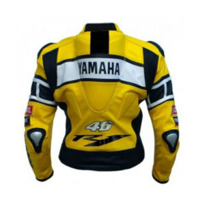 Yamaha Motorcycle Racing Sports Leather Jacket