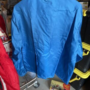 Blue Vintage Ford Mustang Cobra Shelby Racing Jacket