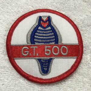 Ford Cobra Shelby GT 500 Logo Patch