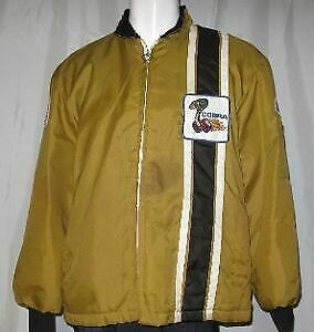Golden Vintage Ford Mustang Cobra Shelby Jacket