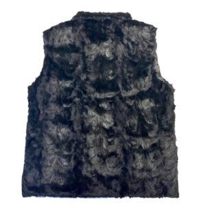 Men's Black Mink Fur Vest