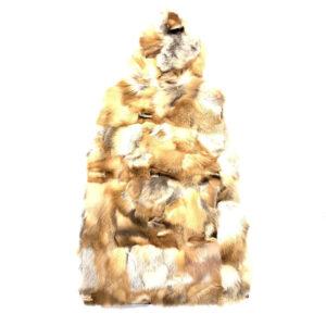 Natural Red Fox Fur Vest