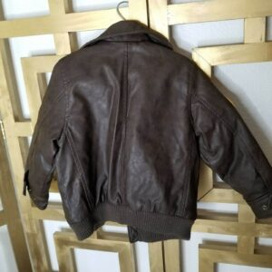 Peanuts Snoopy Dog Leather Bomber Jacket