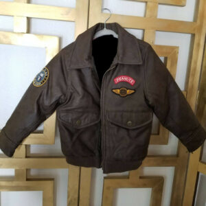 Peanuts Snoopy Dog Leather Bomber JacketPeanuts Snoopy Dog Leather Bomber Jacket
