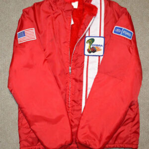 Red Vintage Ford Mustang Cobra Shelby Jacket