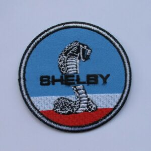 Shelby Cobra Ford Mustang Racing Patch