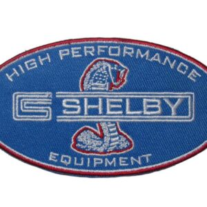 Shelby High Performance Equipment Cobra Embroidered Patch