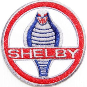 Vintage Ford Shelby Cobra Embroidered Patch