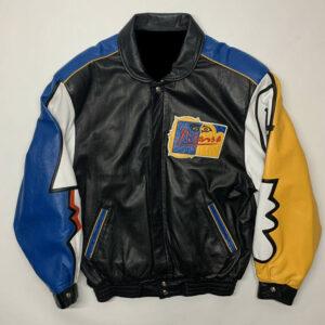 Vintage Jeff Hamilton Pablo Picasso Leather Jacket