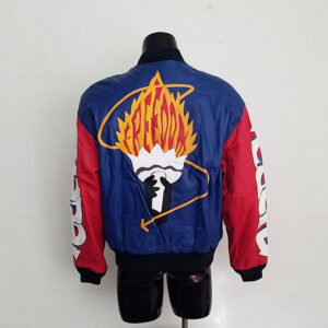 Vintage Michael Hoban Freedom Torch Leather Jacket
