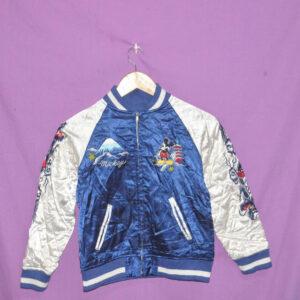 Vintage Mickey Mouse Disney Sukajan Souvenir Jacket
