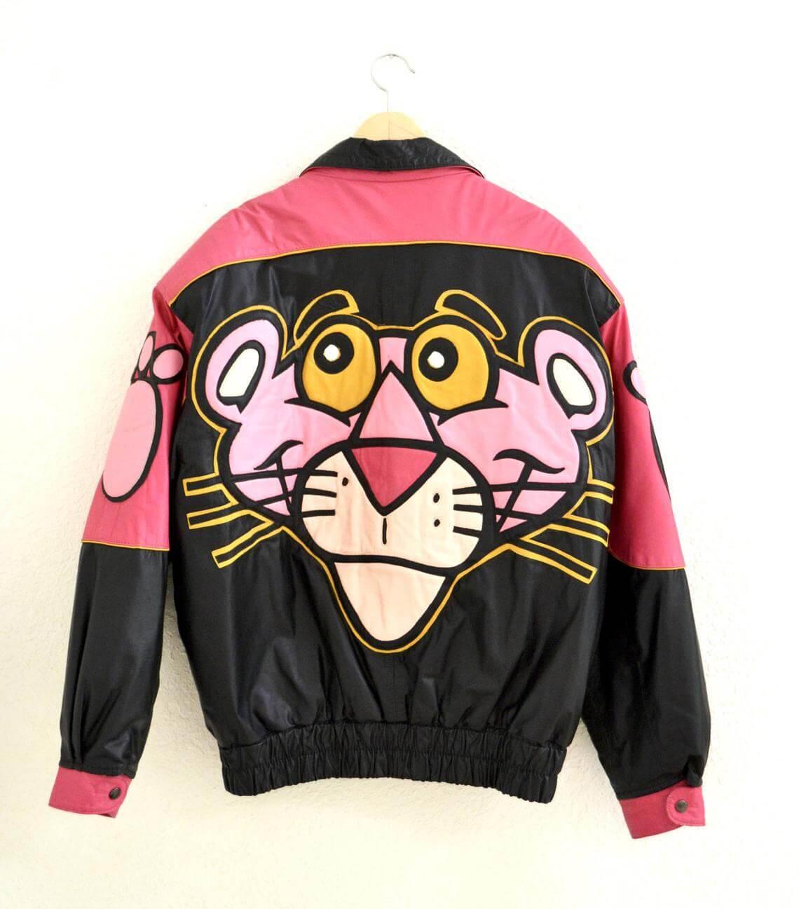 Vintage Pink Panther Cartoon Anime Jacket