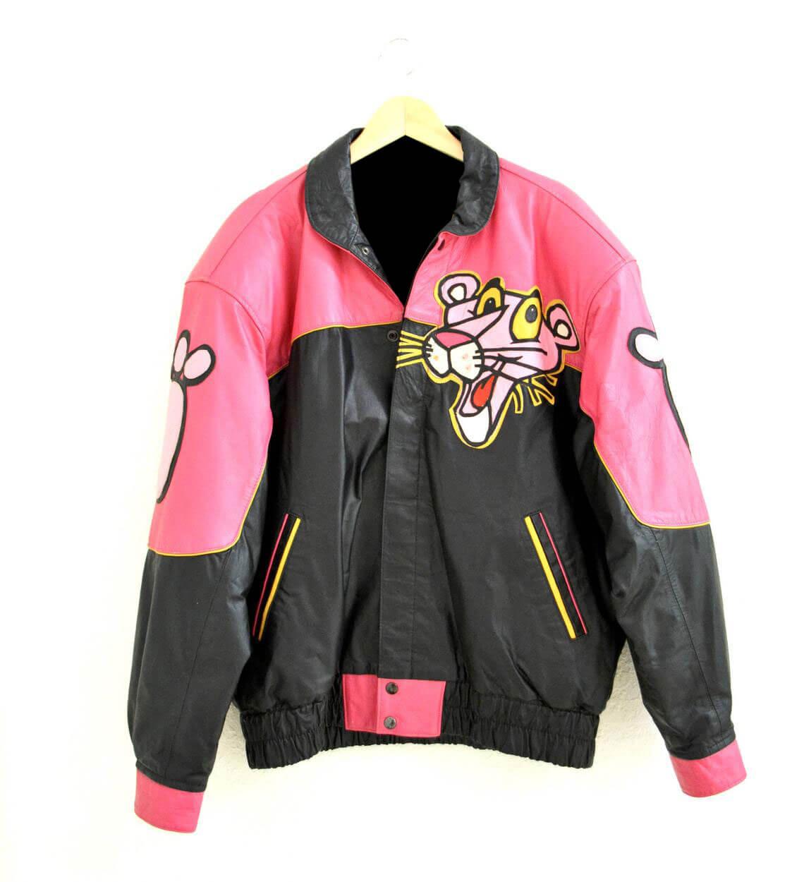 Vintage Pink Panther Cartoon Anime JacketVintage Pink Panther Cartoon Anime Jacket